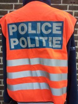 Lokale politie, veiligheidsvest, vanaf 2001