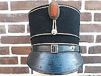 Kepie M1928 gekleede tenue subalterne officier