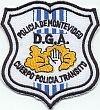 Politie Montevideo, verkeersafdeling