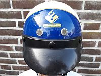 Korps Amsterdam - Amstelland, ruiterhelm