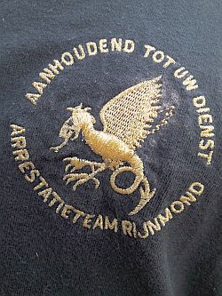 Embleem Arrestatieteam Rotterdam - Rijnmond