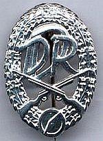 Combatgroep werknemers, wapenspeld zilver