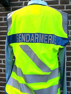 Gendarmerie, verkeersvest