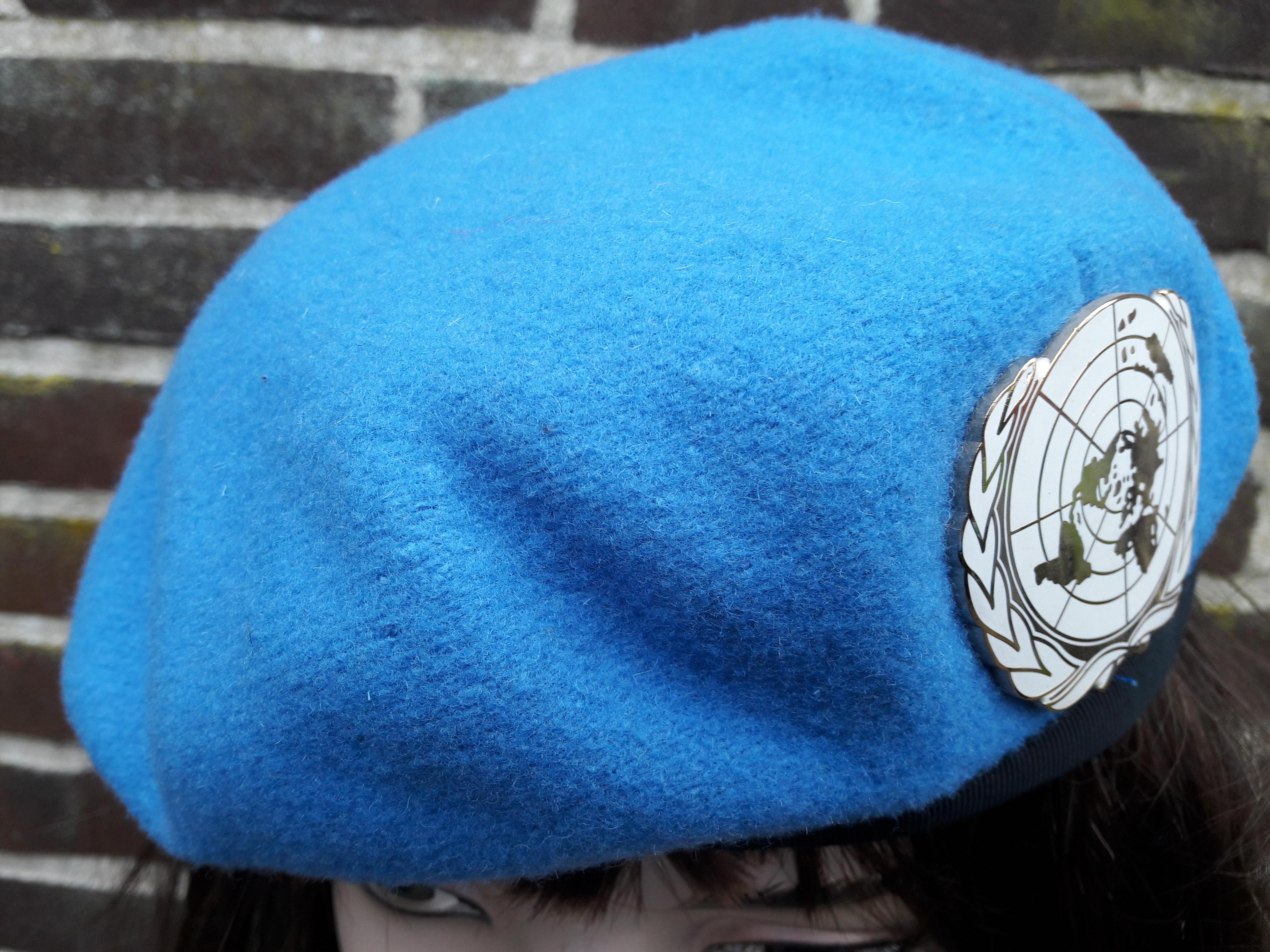 De blauwe baret