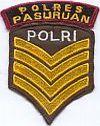Gemeentepolitie Pasuruan, adjudant