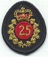 Jaarteken, 25 jaar in dienst