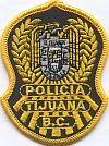 Politie Tijuana, borstbrevet