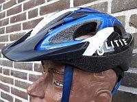 Helm politiebiker Fryslan