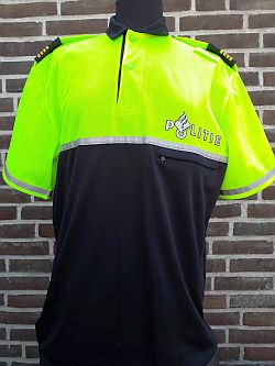 Bikersshirt, speciaal voor evenementen, korte mouw, regio Fryslan