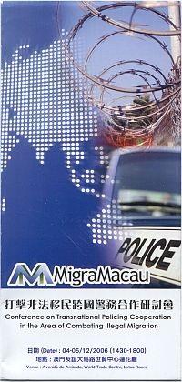 Folder Politie Macau