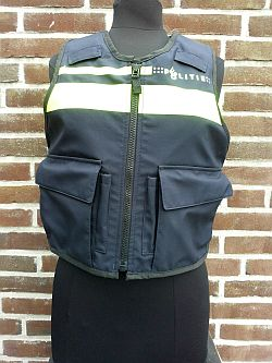 Steekwerend vest, zwarte uitvoering