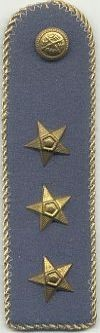 Militia, kapitein, 1949 - 1989