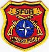 SFOR, militaire politie