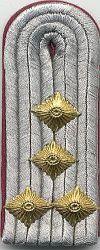 Brandweer, 1960 - 1989,  kapitein