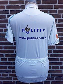 Shirt wielerploeg Regiopolitie