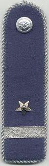 Militia, 2e sergeant, 1949 - 1989