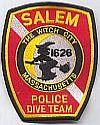 Salem, dive team