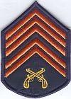 Militaire politie Rio Grande du Sul, sergeant 1e klasse
