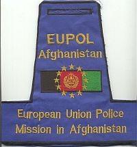 EUPOL Afghanistan, armband