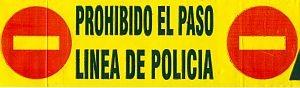 Lokale politie, afzetlint