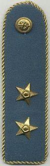 Hongarije, 1e luitenant