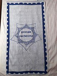 Handdoek Postale Recherche, mijn standplaats van 1983 tot 1987