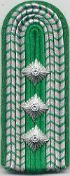 Grenspolitie, 1980 - 1989, bovenmeester