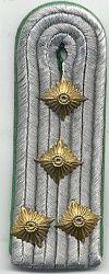 Volkspolitie, 1980 - 1989, kapitein