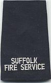 Engeland, rang brandweer Suffolk