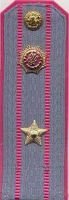 Militia, hoofdinspecteur, tot 1989