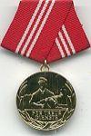 Combatgroep werknemers, medaille 10 jaar trouwe dienst