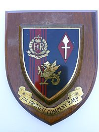 Militairy Police, 174 Provost Company R.M.P.
