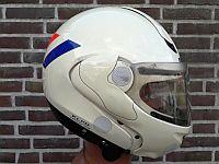 Motorhelm, K.L.P.D. prototype