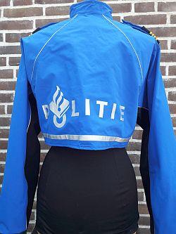 Bikerjas, bovenstuk, behorende bij regenbroek