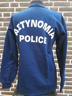 Nationale politie, shirt mobiele eenheid