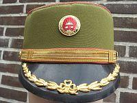 Volkspolitie, 2e luitenant, dameshoedje