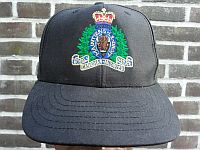 Royal Canadian Mounted Police, baseballcap