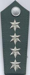 Volkspolitie, 1989 - 1990, hoofdinspecteur