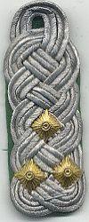Volkspolitie, 1980 - 1989,  kolonel
