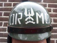 Militia, motorhelm, 1976 - 1983