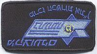 Nationale politie, borstembleem, snelwegpolitie