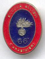 Carabinieri, Scuola Allevi 66