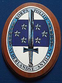 Korps Politie Nederlandse Antillen, plaquette