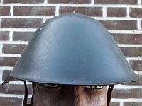 Combatgroep werknemers,  stalen helm M56, 1963 - 1989