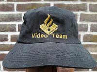 Baseballcap Videoteam Groningen