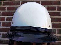 Volkspolitie, helm verkeersafdeling, 1967 - 1989