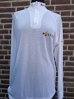 Bikersshirt, wit, lange mouw, regio Brabant