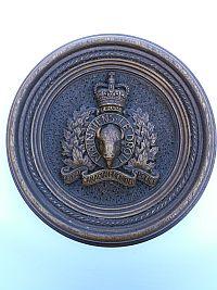 RCMP wandbord