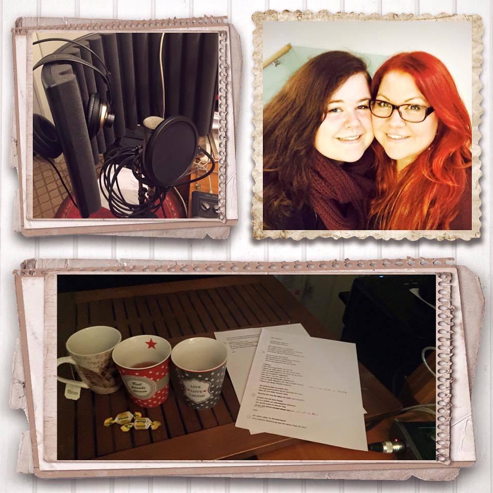 Vocalcoaching und Recordings mit meiner Schülerin Tabea