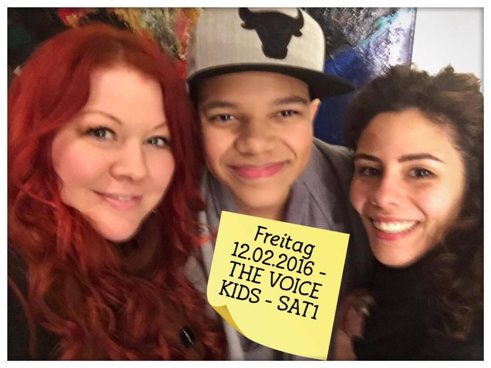 The Voice Kids - mit Noël und meiner Kollegin Beo